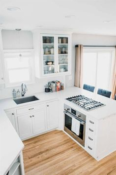26 Best Small Kitchen Remodel Ideas  #kitchenremodeling