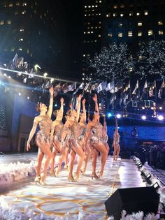NBC local and national broadcasts promoting the 2011 Radio City Christmas Spectacular!