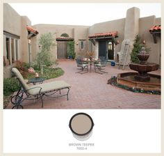 Southwestern Style: Adobe Homes Possible exterior colors