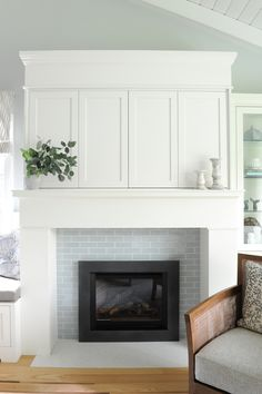 Fireplace Subway Tile