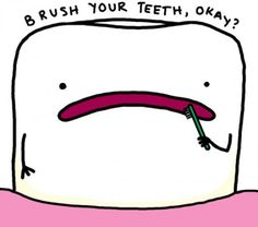 Brush your teeth. #FABsmile