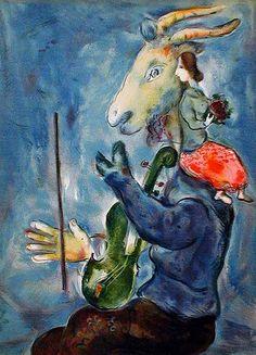 Spring (1938) - Marc Chagall