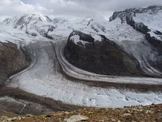 Lodowiec Gornergletscher Mount Everest, Mountains, Nature, Travel, Geography, Voyage, Trips, Viajes, Naturaleza