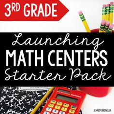 Do you use guided math centers in your classroom? Or are you wanting to use them? Either way, this free math center starter pack is just what you need! Click here to see the 4th Grade Math Center