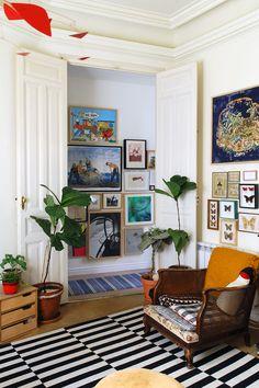 En casa del diseñador de joyas Andrés Gallardo y Juan Carlos Vivas | AD España, © Eduardo Boillos
