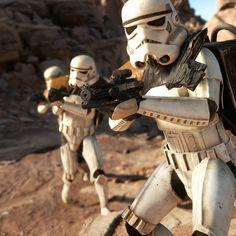 ArtStation - Star Wars Battlefront - Sandtrooper, Björn Arvidsson