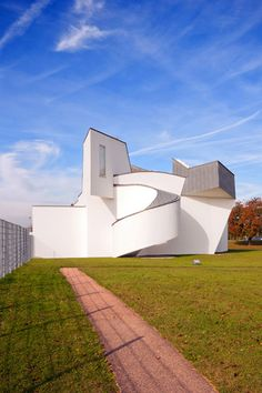 Vitra Design Museum (designed by Frank Gehry) at the Vitra Campus in Weil am Rhein, Germany | Photography by Wojtek Gurak