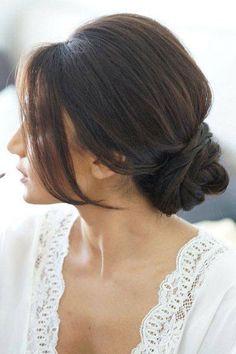 Hair inspiration for a bride or bridesmaid