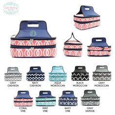 Monogrammed Insulated Casserole Carrier by LolaDarlingDesigns