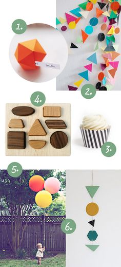 swoon studio: Geometric Party Inspiration