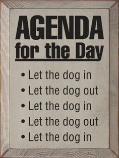 This is how Caddie likes to spend the day.in and out, in and out, in and out till bedtime lol I Love Dogs, Puppy Love, Cute Dogs, Love For Dogs Quotes, Old Dog Quotes, Rescue Dog Quotes, Bulldog Quotes, Dog Quotes Funny, Fu Dog