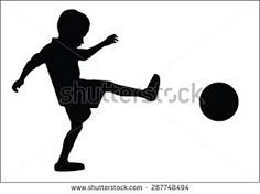 Image result for silhouettes children playing