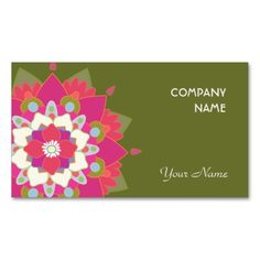 Vibrant Lotus Natural Health and Wellness Business Card Template. Make your own business card with this great design. All you need is to add your info to this template. Click the image to try it out!