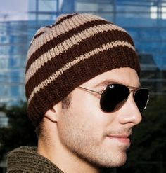 Receita de Tricô  GORRO MASCULINO EM TRICO Touca De Croche Masculino 3b6f0792a3d