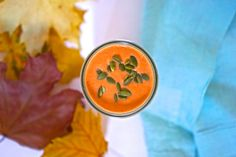 Want to arm yourself against the winter nasties? This pumpkin smoothie can help with its immunity-boosting ingredients and great taste!