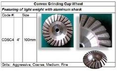 Convex Cup Wheel with aluminum shank made in Korea guarantees consistent high quality. http://www.gobizkorea.com/catalog/product_view.jsp?blogId=stonetools&pageVol=50&listStyle=L&objId=1024708 Following is our online catalog supported by Korea government;  http://stonetools.gobizkorea.com sales@stonetools.co.kr  https://www.facebook.com/StonePolishingPads http://www.linkedin.com/company/stonetools-korea http://www.stonetools.co.kr https://www.pinterest.com/stonetoolskorea