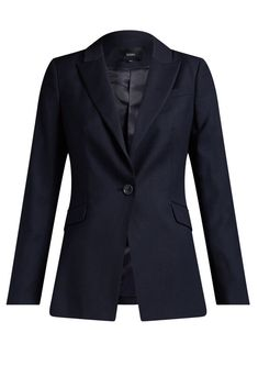 Celeste Wool Suit Jacket | Woman | SABA Blazer Suit, Suit Jacket, Navy Color, Colour, Wool Suit, Trending Now, Long A Line, Wool Blend, Jackets For Women