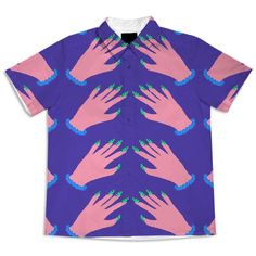 Hands Blouse from Print All Over Me