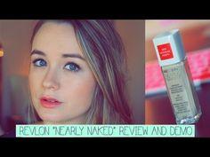 "Revlon ""Nearly Naked"" Foundation & Powder: Review & Demo! - ABeautyWhisperer"