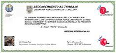 Reconocimientos 2014: José Villalba Distinción Rafael Morales Caballero