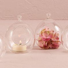 Blown Glass Globes (set of 4)