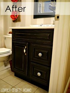 Diy Painting Laminate Bathroom Cabinets painting a laminate bathroom vanity | diy projects | pinterest