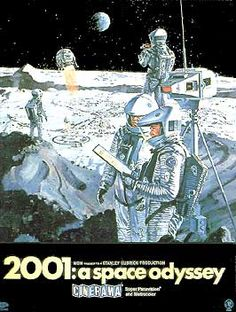 2001: A Space Odyssey. Very disturbing to me when I saw it as a kid. Kinda spoiled me, other movies have a hard time measuring up. Shoulda seen Star Wars first.