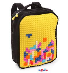 Mochilas para personalizar con Pixel Art