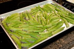 Dried Okra Oven Recipe | Okra Chips | Never Enough Thyme — Never Enough Thyme - Recipes with ...