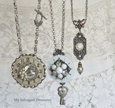My Salvaged Treasures: Junk to Jewelry Creations