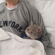 Bedtime cuddles