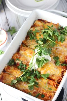 "do-not-touch-my-food: ""Chicken Enchiladas """