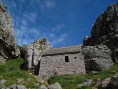 St Govan's Chapel, Pembrokeshire, Wales www.realwalestours.com