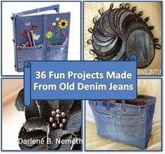 Let It Shine: 36 leuke projecten van Old Denim Jeans