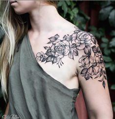26 Fantastic Floral Shoulder Tattoo Design Ideas for Women .- 26 Fantastische Floral Schulter Tattoo Design-Ideen für Frau – – Tattoo Art … 26 Fantastic Floral Shoulder Tattoo Design Ideas for Woman – – Tattoo Art – - Shoulder Sleeve Tattoos, Shoulder Tats, Flower Tattoo Shoulder, Shoulder Tattoos For Women, Sleeve Tattoos For Women, Best Sleeve Tattoos, Floral Shoulder Tattoos, Women Sleeve, Tattoo Designs