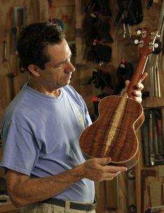 Koa Tenor Ukulele - luthier Jay Lichty