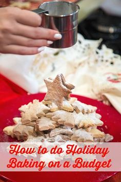 Getting ready to bake for the holidays? Whether you're doing it for your own family or as gifts,baking doesn't have to be a costly expense. Here are some ways to do holidaybaking on …