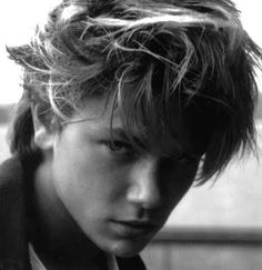 "River Phoenix- I will always remember the lyrics by Natalie Merchant--- ""Young and strong Hollywood son, in the early morning light, this star fell down, on Sunset Boulevard..."""