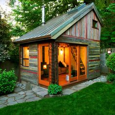 Backyard retreat or guest cabin or bunk house!!!