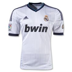 12/13 Real Madrid White Home Soccer Jersey Shirt Replica  wholesale soccer jerseys $33.99