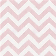 Pink and Gray Chevron Fabric by the Yard | Carouse