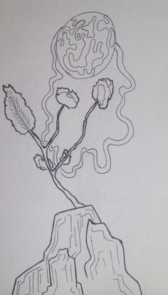 Tried to draw a plant.. Didn't go so well :S