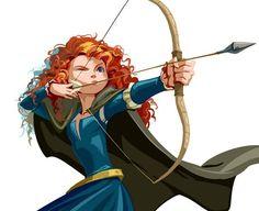 Merida fanart by Disney Pixar, Merida Disney, Arte Disney, Disney And Dreamworks, Disney Magic, Brave Merida, Disney Princess Art, Disney Fan Art, Disney Love