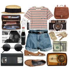 A fashion look from May 2013 featuring boyfriend shorts, genuine leather shoes and travel daypack. Browse and shop related looks.