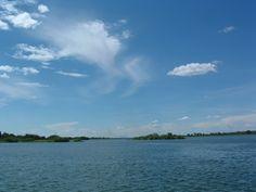 Zambezi River from Zambia/Botswana/Namibia ferry