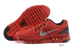 Nike Air Max 2013 Mens Pimento Red Black 554886 600