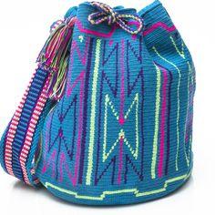 Productos - Auténticos MANO Wayúu MOCHILA BOLSA | WAYÚU TRIBU