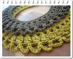 hf Crochet Necklace 100% Cotton
