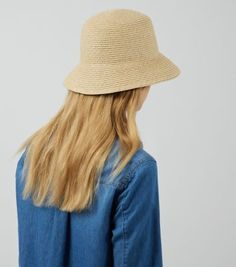 Stone Straw Bucket Hat