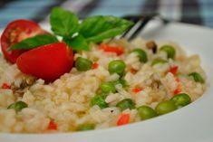 risotto cu mazare 05 Risotto, Grains, Rice, Food, Eten, Seeds, Meals, Korn, Diet
